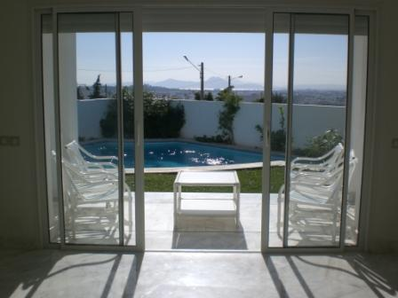 Tunis vente achat location appartement terrain maison villa for Achat location maison