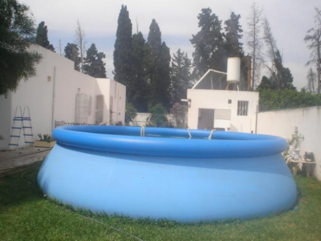 Villa s 3 avec piscine la soukra for Construction piscine tunisie