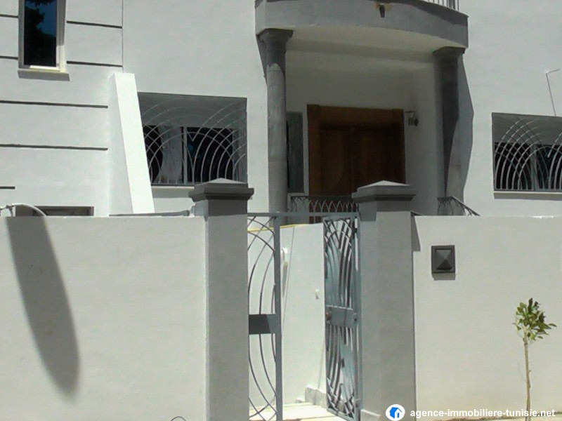 Beautiful maisons de tunisie contemporary - Exemple facon de entre villa en tunisie ...