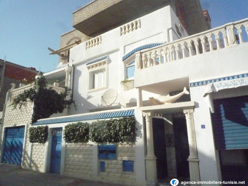 Ariana tunisie vente achat location appartement terrain for Architecture tunisienne maison