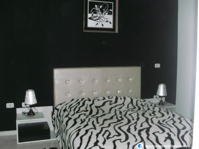 appartement s 1 meubl haut standing la marsa. Black Bedroom Furniture Sets. Home Design Ideas
