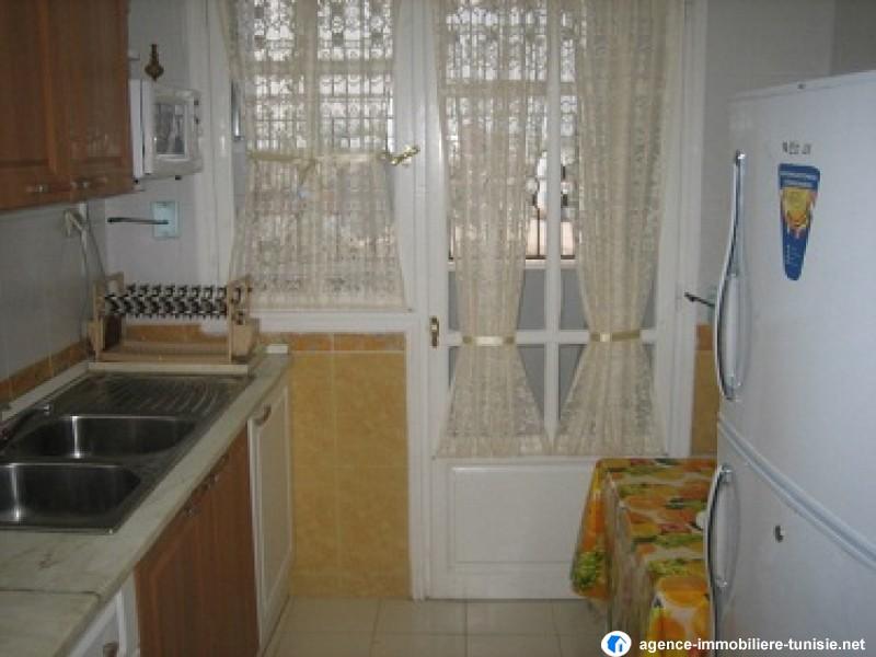 Appartement meubl s 2 haute standing for Meuble cuisine tunisie