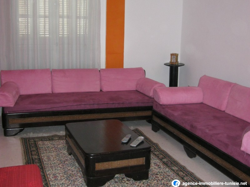 location appartement meuble a tunis