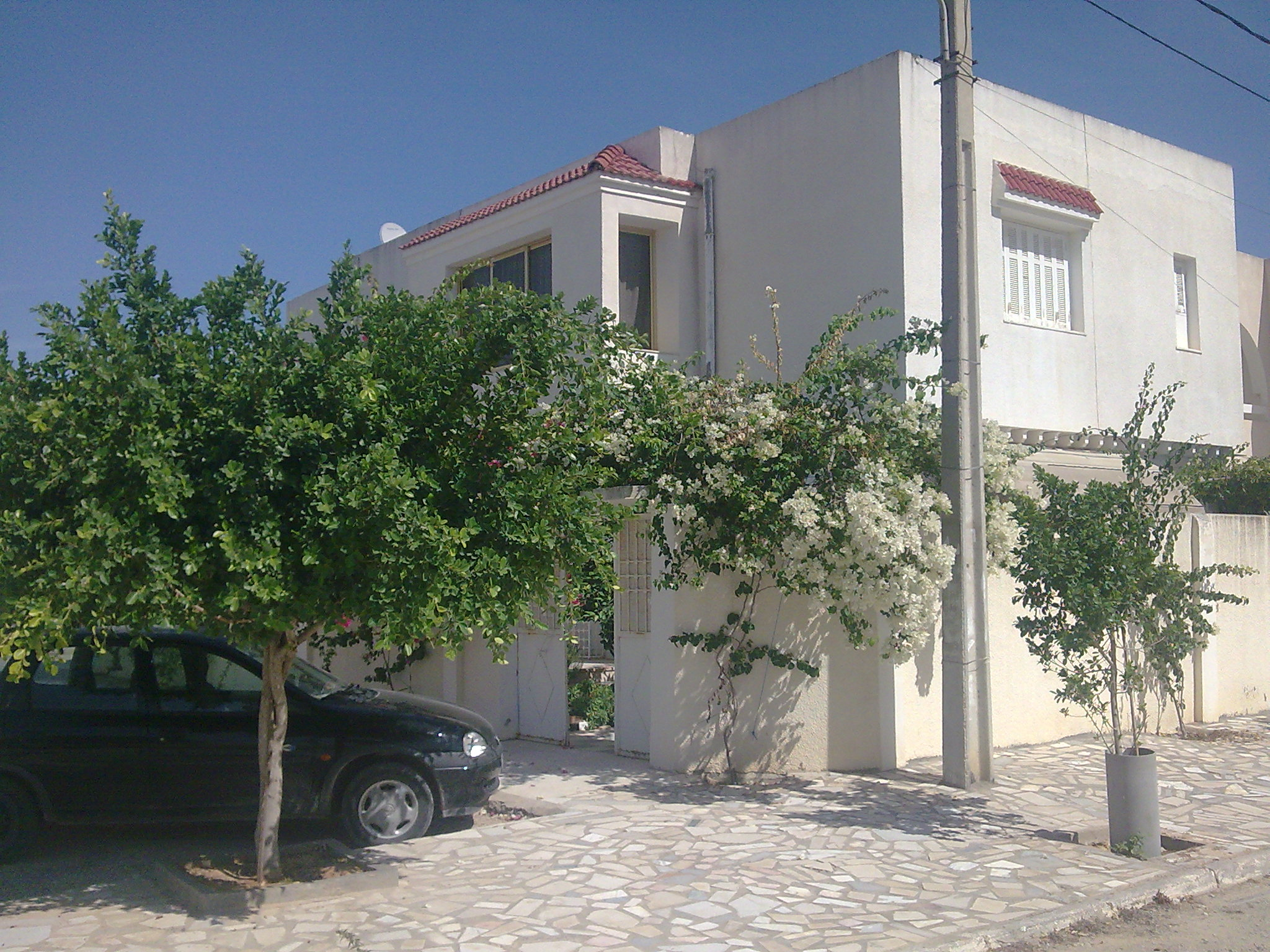 A vendre villa a ezzahra for Budget construction maison tunisie